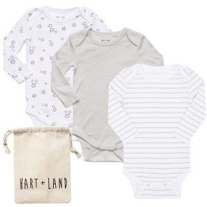 HART + LAND long sleeve organic baby clothes