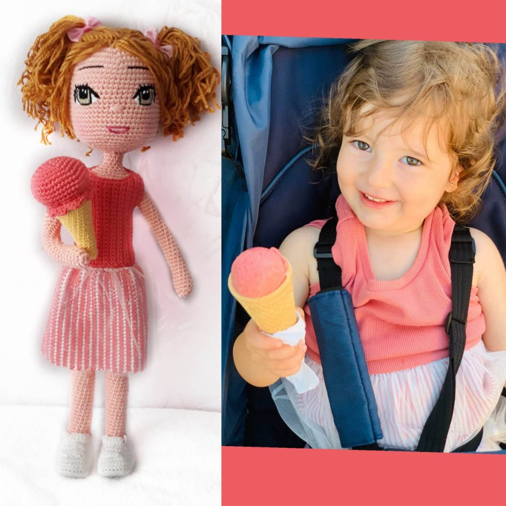 Cuddoll Personalized Look a Like Doll