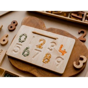 Q Toys Number Tracing Board