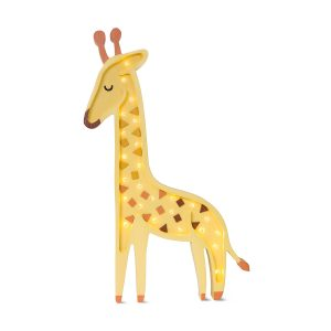 Little Lights Giraffe Lamp - Yellow