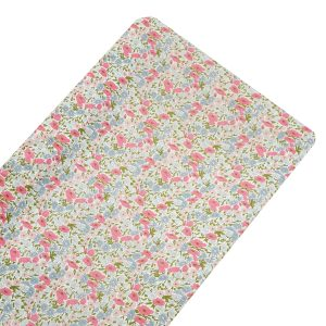 Coco & Wolf Liberty Fabric Changing Pad - Poppy & Daisy Rose