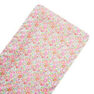 Coco & Wolf Liberty Fabric Changing Pad - Betsy Fuchsia