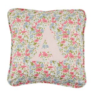 Coco & Wolf Liberty Fabric Personalized Pillow – Poppy & Daisy Rose