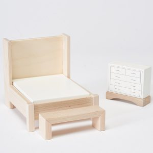 Milton & Goose Bedroom Dollhouse Furniture Set