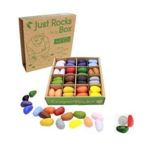 Crayon Rocks Just Rocks in a Box – 16 Colors