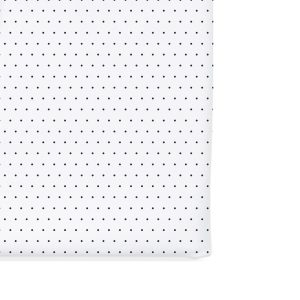 12 12 Crib Sheet - Navy Pin Dot