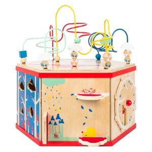 """Small Foot XL Activity Center 7-In-1 Iconic Motor Skills """"Move It!"""" Playset"""