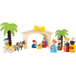 Small Foot Premium Nativity Manger