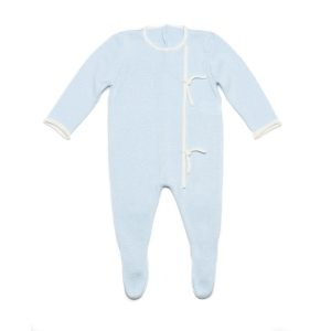 Tot A Porter Baby Onesie with Knot Details