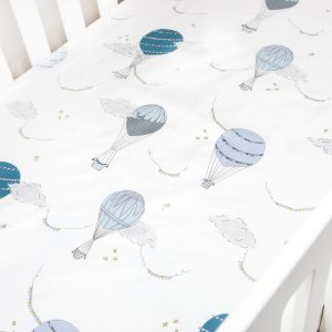 Gooselings Touch the Sky Crib Sheet