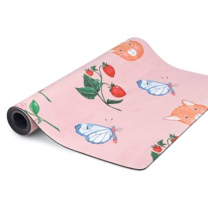 Mindful & Co Kids Yoga Mat – Sweet Print