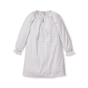 Petite Plume Baby/Toddler/Big Kid Regent Tattersall Delphine Nightgown