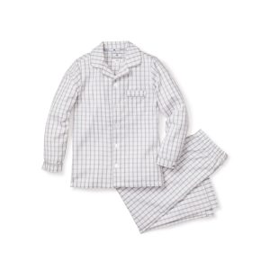 Petite Plume Baby/Toddler/Big Kid Regent Tattersall Pajama Set