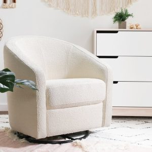 Babyletto Madison Swivel Glider – Boucle