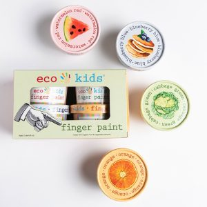 Eco-Kids Eco-Finger Paint 4 Pack