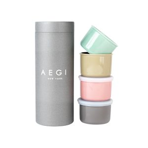 Aegi Ceramic Containers – Multi Color