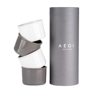 Aegi Ceramic Containers – Neutral