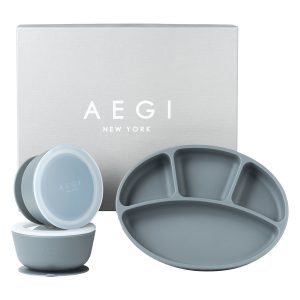Aegi Silicone Suction Gift Set