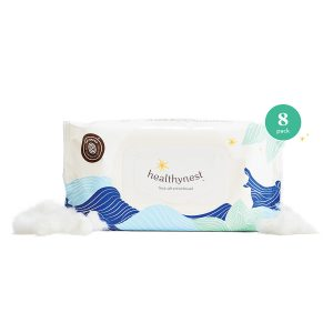 HealthyNest Wet Wipes – 8 Pack