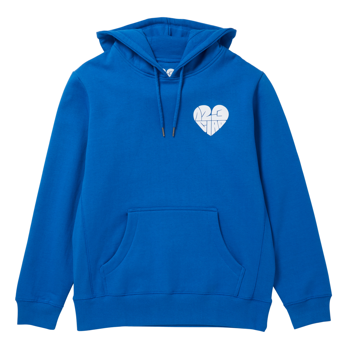 1,2,3 Ciao Hoodie - Blue with White Logo