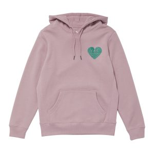 1,2,3 Ciao Hoodie - Lavender with Sage Logo