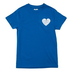 1,2,3 Ciao Tee - Blue with White Logo