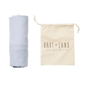 ORGANIC SOLID COTTON SWADDLE
