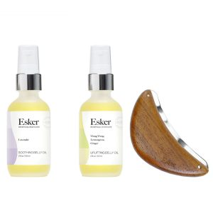 Esker Soothing Belly Oil and body plane tool