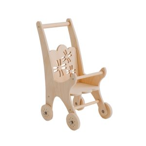 Pretty in Pine Flower Dolly Pram
