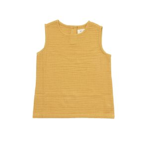 HART + LAND Organic Cotton Muslin Toddler tank top