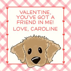 Hunny Bee Paperie Puppy Valentine's Day Card