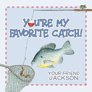 Hunny Bee Paperie Fish Valentine's Day Card