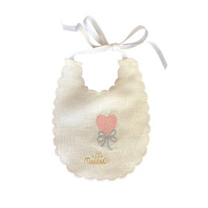 Storybook Goods Personalized Heart Balloon Bib