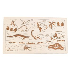 Stuka Puka Dino World Wooden Puzzle