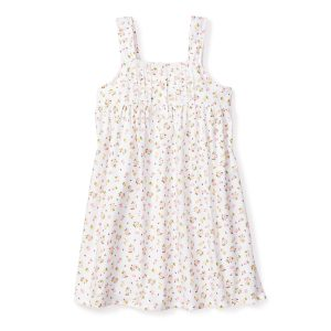 Petite Plume Baby/Toddler/Big Kid La Rosette Charlotte Nightgown