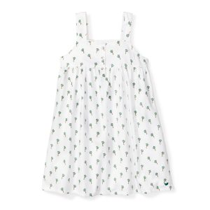 Petite Plume Baby/Toddler/Big Kid Palmier Charlotte Nightgown