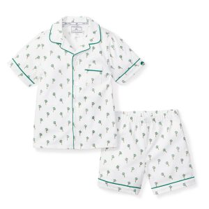 Petite Plume Baby/Toddler/Big Kid Palmier Short Set