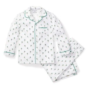 Petite Plume Baby/Toddler/Big Kid Palmier Pajama Set