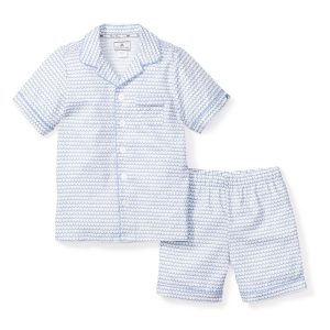 Petite Plume Baby/Toddler/Big Kid La Mer Short Set