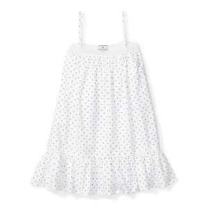 Petite Plume Baby/Toddler/Big Kid Pin Dots Lily Nightgown