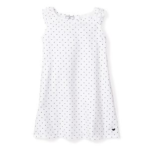 Petite Plume Baby/Toddler/Big Kid Pin Dots Amelie Nightgown