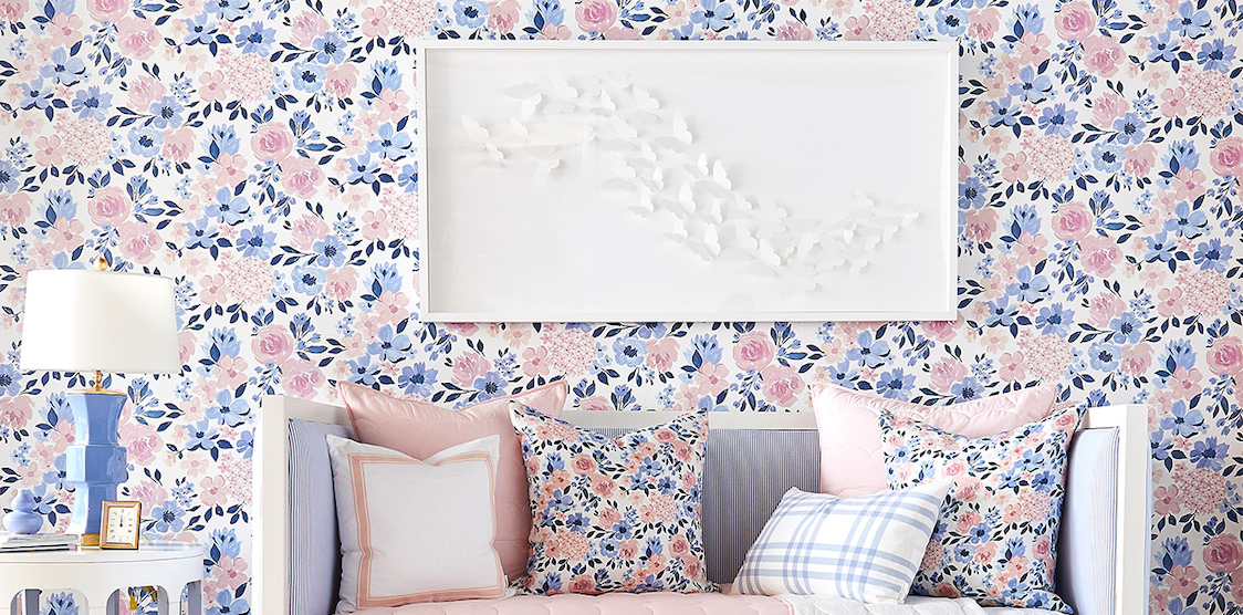 A child's room decorated with Cait Kids decor