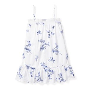 Petite Plume Baby/Toddler/Big Kid Indigo Floral Lily Nightgown