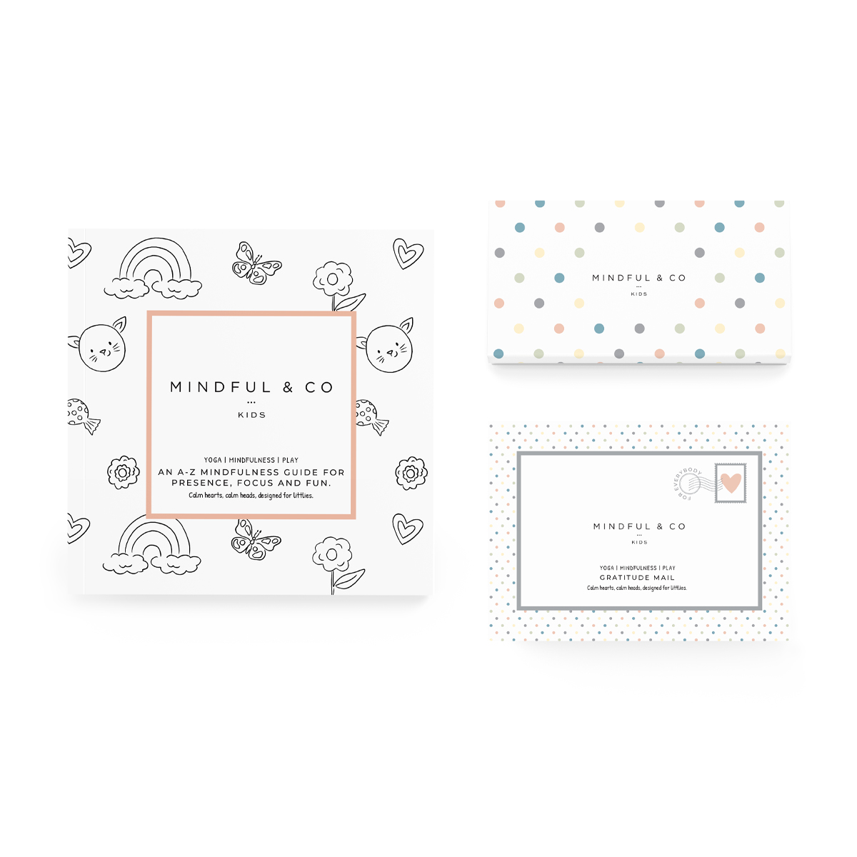 Mindful & Co Kids Coloring Pack