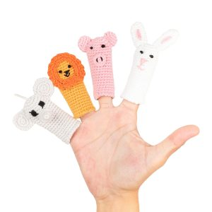 Cuddoll The Explorers Finger Puppets