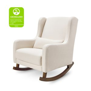 Babyletto Kai Rocker in Eco-Performance Fabric | Water Repellent & Stain Resistant