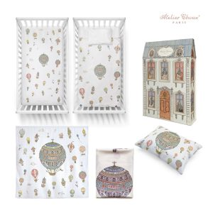 Atelier Choux Hot Air Balloon Nursery Gift Set