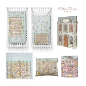 Atelier Choux Monceau Mansion Nursery Gift Set
