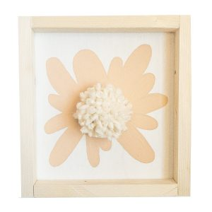 love, Holston Flower Sign with Pom Pom