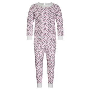 Lila + Hayes Baby/Toddler/Big Kid Ava Two Piece Pajama Set – Strawberry Fields